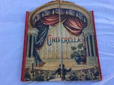 RARE 1891 Mcloughlin Bros CINDERELLA Stage Theater Childrens Book