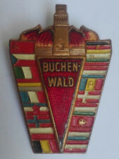 Buchenwald Memorial Pin badge International Liberation Day Meeting GERMANY WW2