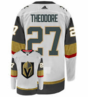 Shea Theodore Vegas Golden Knights Adidas Authentic Away NHL Hockey Jersey