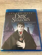 Dark Shadows Blu Ray Johnny Depp Bilangual