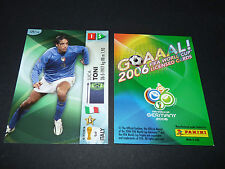 LUCA TONI ITALIA PANINI CARD FOOTBALL GERMANY 2006 WM FIFA WORLD CUP