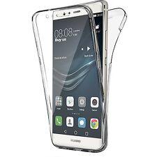 Pour Huawei P10 Lite Coque Gel 360 avant + Arrière Protection INTEGRAL
