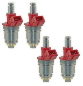 Hitachi OEM Set of 4 Fuel Injectors For Nissan D21 2.4L L4 1993-1994 Base