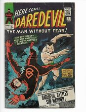 DAREDEVIL 7 - VG 4.0 - 1ST RED COSTUME - BATTLING SUB-MARINER (1965)