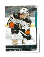 2018-19 UPPER DECK #216 MAXIME COMTOIS YG RC UD YOUNG GUNS ROOKIE DUCKS