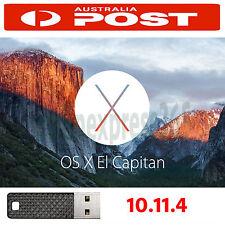 Bootable USB Install Mac OS X El Capitan 10.11.4 for Apple Macbook iMac Air Pro