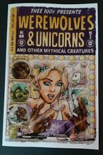 Werewolves & Unicorns and other Mythical Creatures Anthology Book * comic