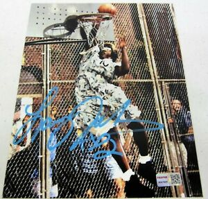 Larry Johnson Grand MaMa signed autographed 8x10 Photo Tristar COA