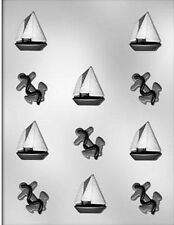 Anchor & Sail Boat Chocolate Candy Mold from CK  #15333 - NEW