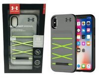 NEW Under Armour UA Protect Arsenal Durable Case Apple iPhone X / XS - Gray