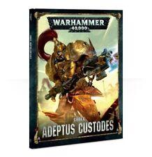 Warhammer 40K Adeptus Custodes Codex Hardcover 8th Edition - New - Free Shipping