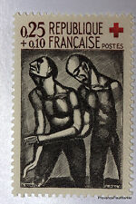 Yt 1324 CROIX ROUGE ROUAULT    TIMBRE NEUF **  LUXE FRANCE  1° CHOIX