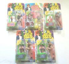 1999 Austin Powers McFarlane Toys 5 Figure Lot, Mini Me, Felicia Shaggwell, etc.
