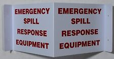 Emergency Spill Response Equipment 3D Projection Sign/Emergency .-ref0420