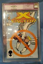 X Factor #15 CGC 9.6 Restored CGC #0068290007 older slab shows wear