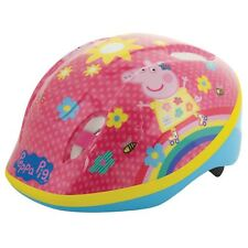PEPPA PIG SAFETY HELMET PROTECTION SCOOTER BIKE KIDS GIRLS 48cm-54cm