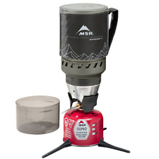 MSR Windburner Stove Black - Lightweight Backpacking Stove Super-Efficient