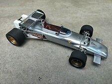 EXOTO 1/18 Ferrari 312B Pure Line in Aluminum Finish Model Diecast Car GPC97068