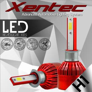 H1 388W 38800LM LED Headlight Conversion Kit Bulbs 6000K White Power Frot Light