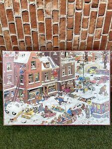 5000 Pieces Jigsaw Puzzle Jumbo Van Haasteren Streetlife Very Rare Puzzle