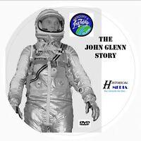 JOHN GLENN STORY - Mercury Astronaut Film Documentary - DVD - Narrator Jack Webb