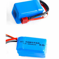 2S 7.4V 1800mAh 20C LiPO Battery T plug for RC Model Buggy Truck Speed Boat Ship