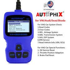 V007 OBD2 Auto Scanner ABS SRS Oil Throttle EPB Oil Reset Tool for VW for Audi