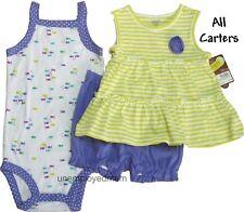 Nike Under Armour Tee Shorts Set Outfit Girls Top Bottoms Shirt Summer Carters