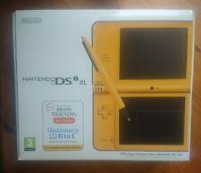 Brand New Nintendo DSi XL Yellow Console PAL RARE
