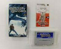 BOUNTY SWORD With BOX   Nintendo Super Famicom japanese  SFC SNES Japan USED