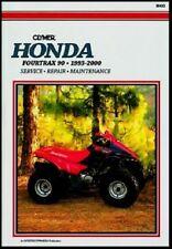 CLYMER SERVICE REPAIR MANUAL HONDA FOURTRAX 90 1993-2000 FOUR TRAX TRX90 TRX