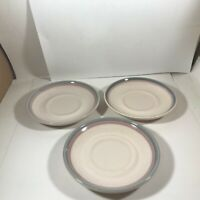 Set of 3 Pfaltzgraff AURA Replacement Saucers