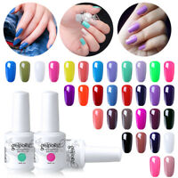Elite99 DIY Manicure 15ml Gel Nail Polish Soak Off Lacquer Varnish Base Top Coat