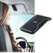 Hands-free Multipoint Wireless Bluetooth Speakerphone Speaker Kit Car Sun Visor