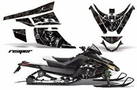 Snowmobile Graphics Kit Sled Decal Wrap For Arctic Cat Z1 Turbo 06-12 REAPER BLK