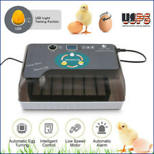 7/12 Eggs Turner Automatic Hatcher Egg Incubator Digital Poultry Chicken Bird Us