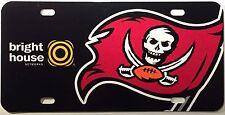 New NFL Tampa Bay Buccaneers Bucs Flag Skull Logo Car License Tag Vanity Plate