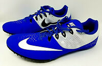 *NEW* Nike Zoom Rival S Track Spikes Blue/White - 806554-400 Sz-13