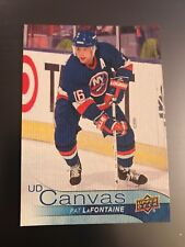2016-17 Upper Deck Canvas SSP Retired Stars Pat Lafontaine C251 NY Islanders