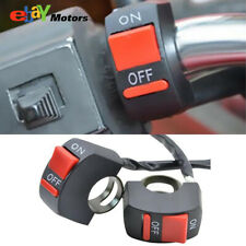 """Universal Motorcycle Scooter Dirt Bike Kill ON-OFF Switch 7/8"""" Handlebar Fast"""