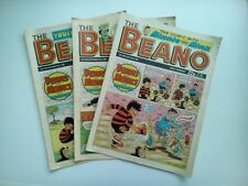 BEANO COMICS from the 1990s Vintage Collectable * Buy 4 get 1 FREEE *