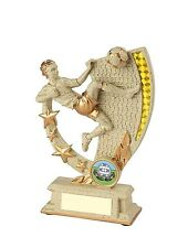 175mm Football Trophy (RRP £8.50) engraved and postage free