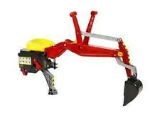 Rolly Toys Heckbagger Bagger rot 409327 für Traktoren und Unimog von Rolly Toys