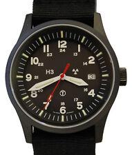 GWS H3 Tritium G10 Pro Black Military Watch (mbm trigalight illumination)