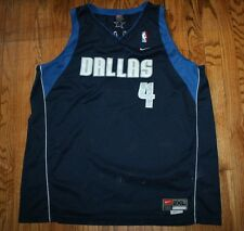 Michael Finley Dallas Mavericks Nike Sewn basketball Jersey Men 2XL XXL Length+2