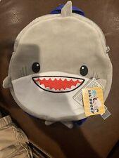 "Lil' Huggy By Fiesta 11""x 10"" Shark Backpack - Fiesta Toys New!"