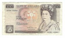England - Ten (10) Pounds, 1980-84