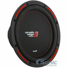 """(2) CERWIN VEGA 2800W 12"""" Dual 4-Ohm HED SERIES Car Subwoofers/Subs 
