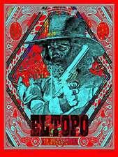 EL TOPO BLUNT GRAFFIX signed Limited edition print #100 ALEJANDRO JODOROWSKY