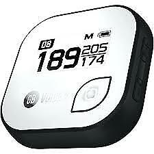 NEW GOLF BUDDY 'VOICE 2' BELT CLIP GOLF COURSE GPS SYSTEM NO FEES EVER BLK/WHT